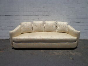 Details About Gorgeous Sofa Vladimir Kagan Style Weiman Hollywood Regency Couch Mid Century