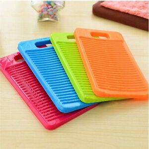 Plastic-Thicken-Antislip-Washboard-Washing-Board-Kids-Shirts-Clean-Laundry-KI