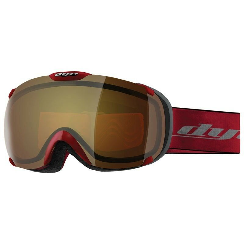 Dye Snow Goggle T1 DTS Red   Bronze Fire - Skibrille   Snowboardbrille