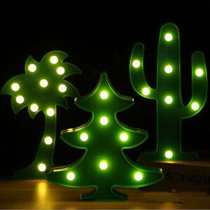3D-Weihnachtsbaum-Gruen-Pflanze-LED-Nachtlicht-Nachtlampe-Weihnachten-Lampe-Deko