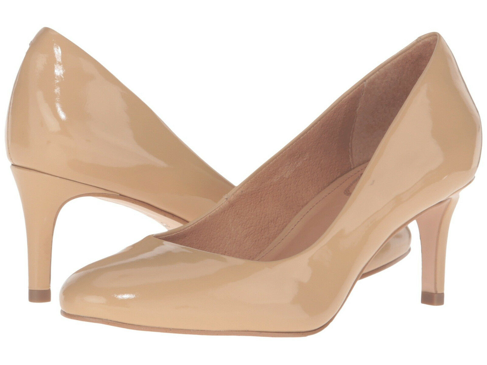 New New New In Box Womens Corso Como Linden Beige Patent Leather Pumps Heels shoes 2ce4f7