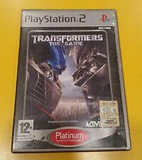 Transformers The Game GIOCO PS2 VERSIONE ITALIANA