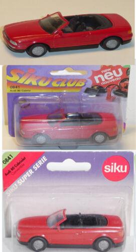Siku Super 0841 Audi Cabriolet 2.3E ca 1:55