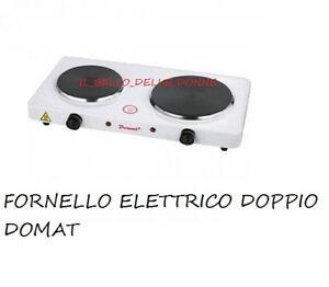 Fornello elettrico doppia piastra portatile 1000 1500w for Fornello campeggio elettrico