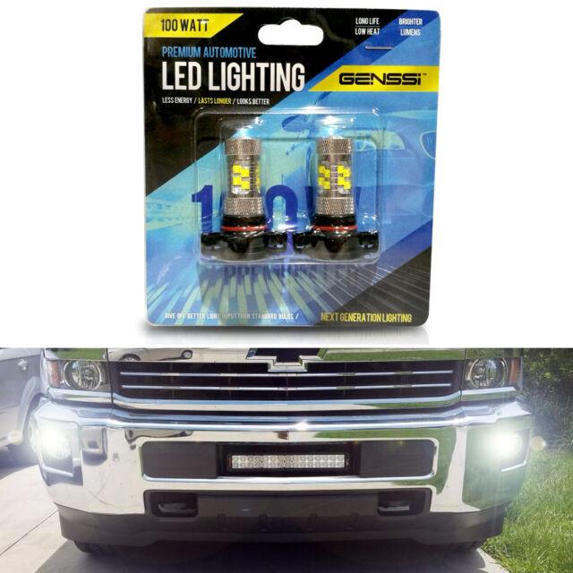 Led Fog Light Bulb Upgrade For Silverado 2500 3500 Hd