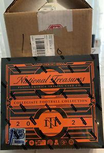 2020 Panini National Treasures Collegiate Football FOTL 4 Box Case Sealed!!🔥