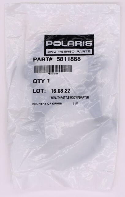 POLARIS PURE OEM NOS ATV SEAL THROTTLE BODY ADAPTER 5811868