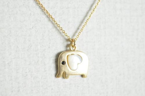 Éléphant Collier simple Animal Collier Mère de collier de perles