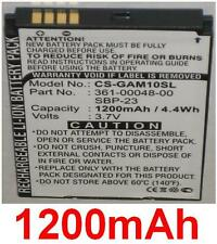 Batteria 1200mAh Per ASUS GARMIN Nüvifone A10 M10 M10E T20 361-00048-00, SBP-23