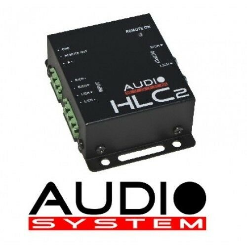Remote HLC 2 High Low Adapter Audio System HLC2 2 Kanal High-Low Adapter