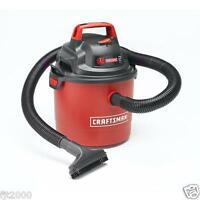 Craftsman Portable 2.5 Gallon 2 Peak Hp Wall Mount Wet/dry Vac