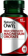 NATURE'S OWN HIGH STRENGTH MAGNESIUM OROTATE 803 MG 60 CAPS MUSCLES BONES HEART