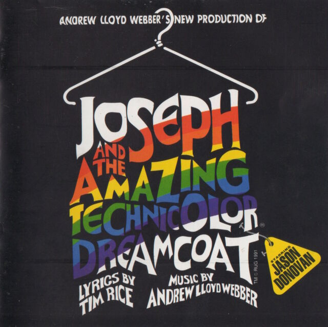 JOSEPH AND THE AMAZING TECHNICOLOR DREAMCOAT - JASON DONOVAN - SOUNDTRACK CD