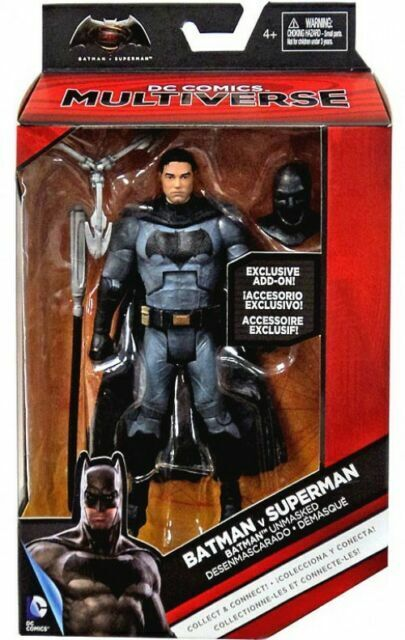 "DC Multiverse BvS ~ 6/"" BATMAN ACTION FIGURE ~ Batman v Superman"