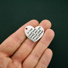 8 Love to Run Charms Antique Silver Tone Fitness Marathon or Jogging SC1787
