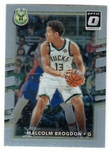 2017-18 Donruss Optic Malcolm Brogdon SP Holo Prizm #83 Bucks Pacers -B