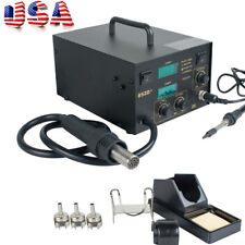 Usa 2 In 1 Smd Hot Air Gun Soldering Rework Station Welding Solder Machine 852d
