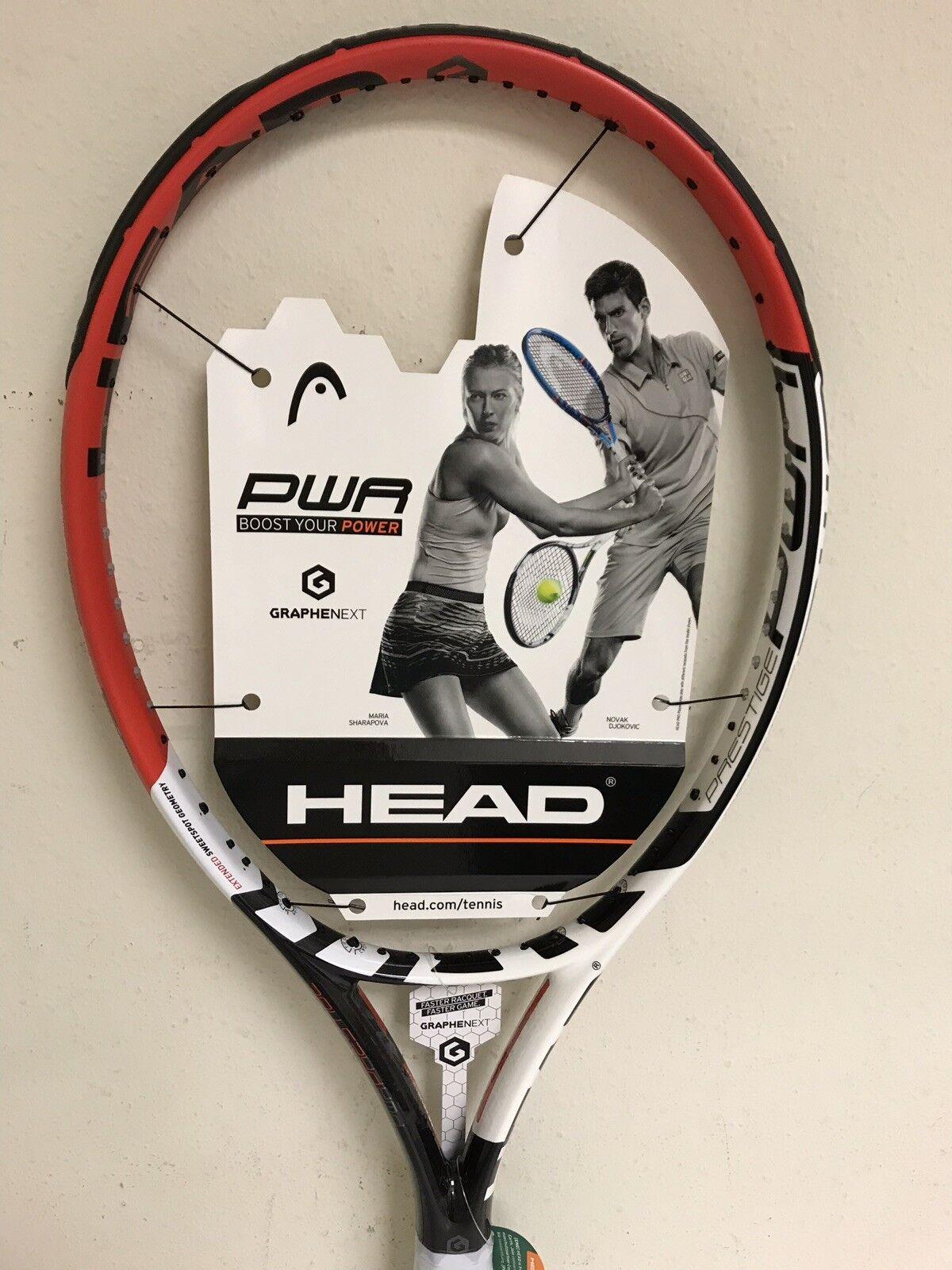 Head Graphene Xt Prestige Power Tenis Raqueta Agarre Talla 4 1 4