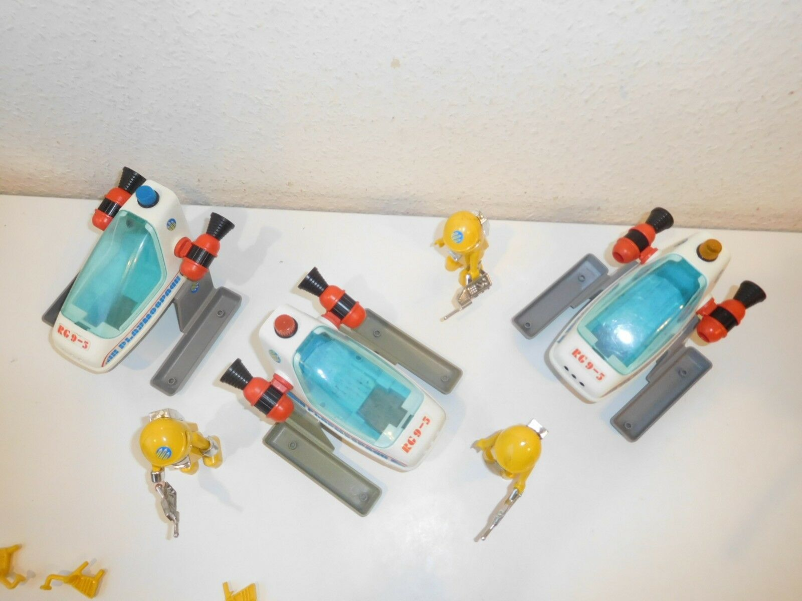 3 X Playmobil Playmobil Playmobil 3509 playmospace playmo space 579224
