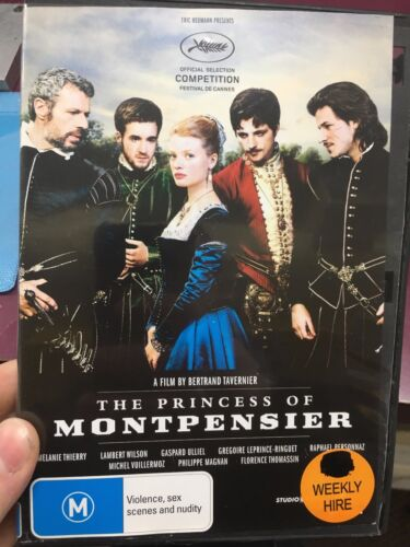1 of 1 - The Princess Of Montpensier ex-rental region 4 DVD (2010 French movie) rare