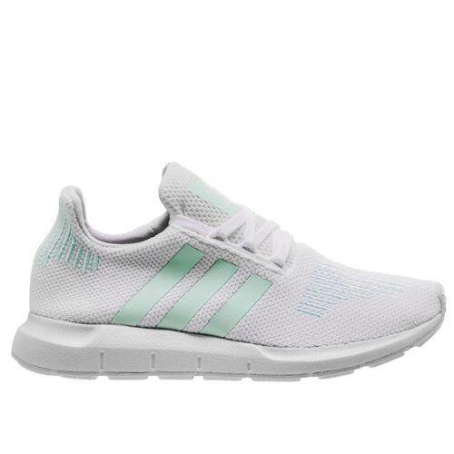 d0b5601453005 adidas Originals Swift Run W White Green Women Running Shoes SNEAKERS  CG4138 UK 4 for sale online