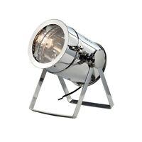 Elegant Lighting Industrial Table Lamp L-10 W-9.25 H-12.5 Lt-1 Chrome Finish NEW
