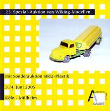 Auktionskatalog 23.Wiking-Auktion (mit SIKU-Auktion)