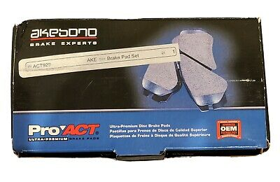 Disc Brake Pad Set-ProACT Ultra Premium Ceramic Pads Front Akebono ACT1455