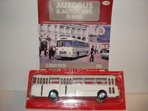 Berliet PLR 10 Bus 1955 Compagnie des Autobus Monaco 1:43 IXO Altaya NEU