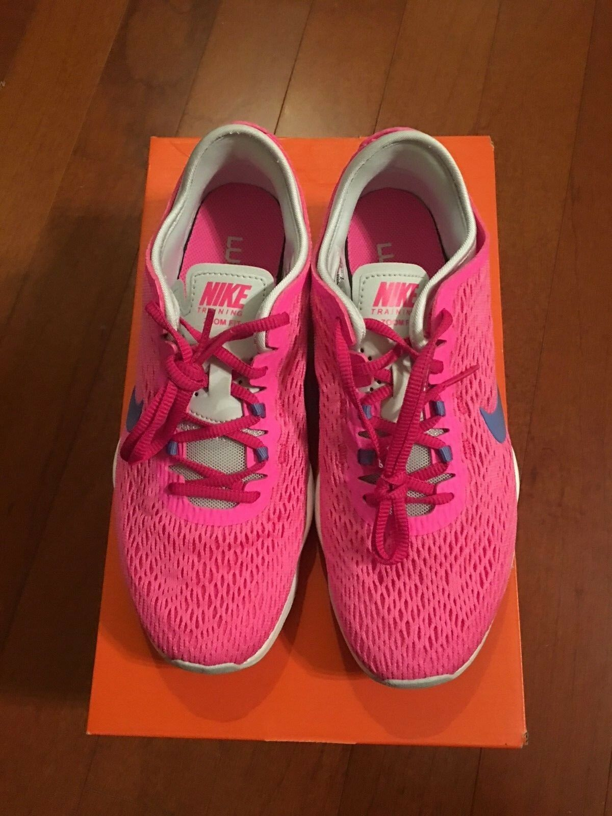 Nike Zoom Fit Women's shoes Size 7 Pink 704658 600 NEW In Box