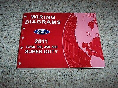 2011 Ford F250 Super Duty Truck Wiring Diagram Manual XL XLT Lariat Diesel  | eBayeBay