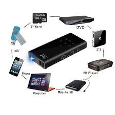 Open Box Pico DLP Handheld Video Projector,150 Min Battery,HDMI,USB, Micro Card