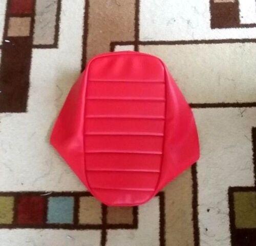 HONDA 185S ATC 1981-83  Red Pleated Custom Hand Made Seat Cover