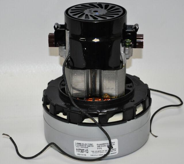 Ametek Lamb 5.7 Inch 240 Volt 2 Stage B//B Tangential Bypass Motor 116414-13