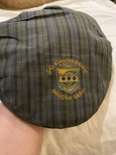 Vintage  Dingle Links Ceann Sibeal Plaid Snap Fron