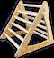 Pikler Kletterdreieck aus Birke 80cm groß sehr stabil NEU 2020 Einführungspreis
