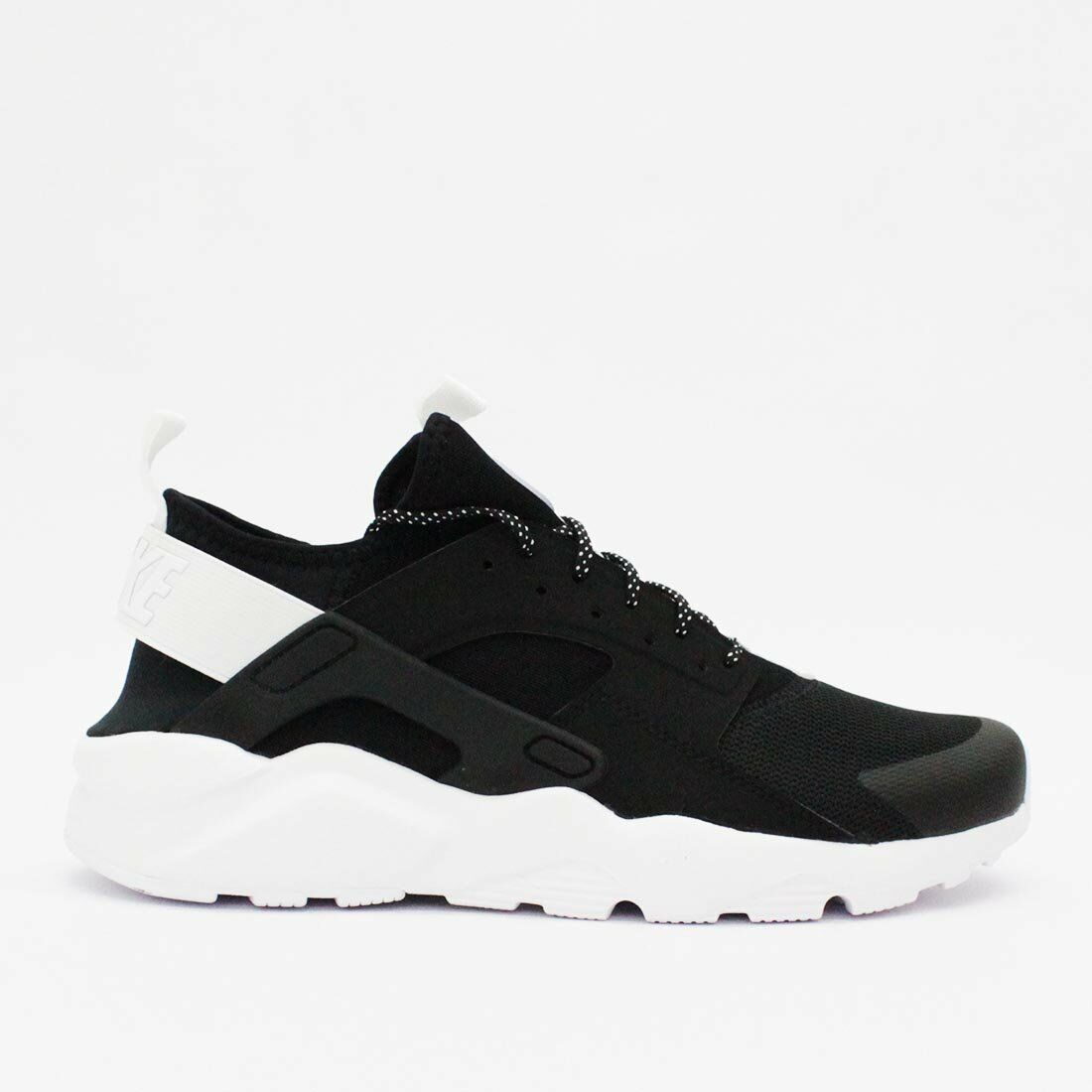 NIKE MEN AIR HUARACHE RUN ULTRA BLACK US7-11 03'