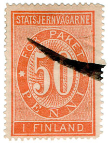 I-B-CK-Finland-Railways-Parcel-Stamp-50p-State-Railway