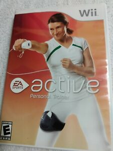 Wii-Active-Personal-Trainer-Nintendo-Wii-EA-Sports-Complete-with-Instructions