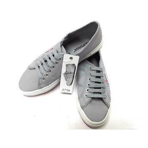 Su Cotone Uomo Sportive Estive Sneakers Superga Grigio 2750 Ginnastica Dettagli Tela Scarpe dR68d1