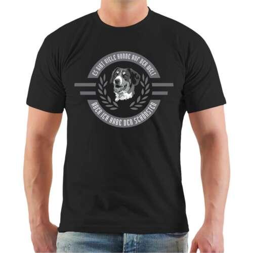 T-Shirt Ich habe den schönsten Großer Schweizer Sennenhund Hunde Rasse Geschenk
