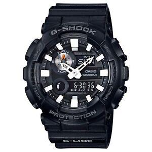 Casio-G-SHOCK-GAX100B-1A-G-Lide-Sports-Moon-Tide-Graph-Black-200m-Men-039-s-Watch