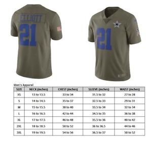 b025430526c Image is loading Ezekiel-Elliott-Dallas-Cowboys-Nike-Salute-To-Service-