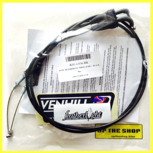 Details about  /Suit KTM SX525 2004-2005 Venhill featherlight throttle cables K01-4-036