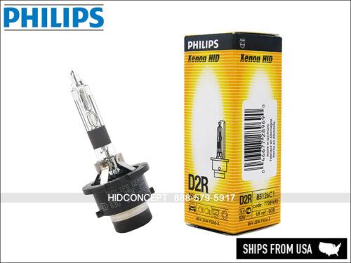 D2R Philips HID XENON Headlight Bulb 85126 OEM 4300K Genuine Germany 35W DOT D2R