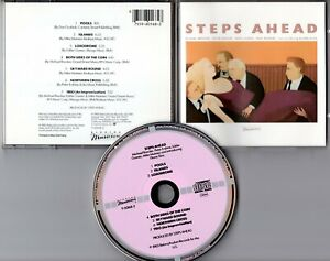 Steps-Ahead-CD-S-T-1983-First-Press-WEST-GERMANY-ROSA-SILVER-target-design-MINT