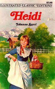Heidi-by-Johanna-Spyri-adapted-Deidre-S-Laiken-illustrated-used-paperback-1977