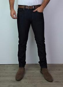 Mens Skinny Denim Jeans Smart Casual Indigo Slim Regular Fit Stretch ... 0f523c96ab04