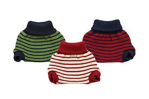 90497f91c POPOLINI Diaper Cover 100% MERINO WOOL baby soaker cloth knitted ...