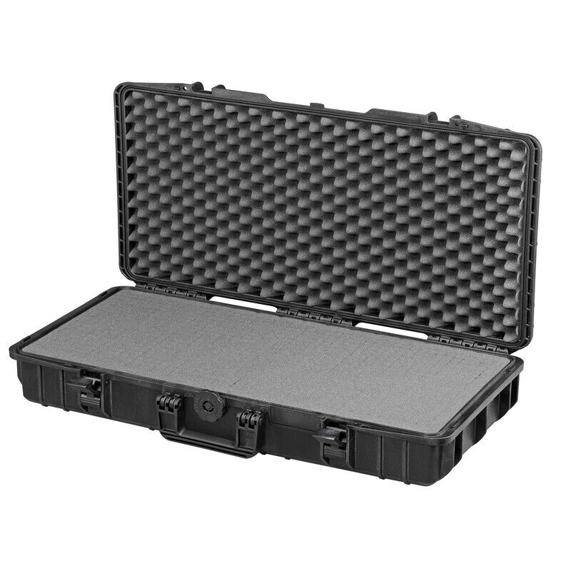 Waterproof Suitcase Aircraft Long Luggage Protective Hard Camera Case with Foam!